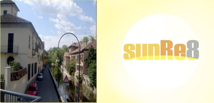 SunRe8 Located on the Martesana Canal
